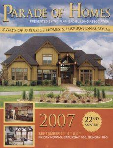 2007 Parade of Homes Magazine Cover