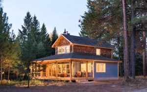 Custom Home in Columbia Falls, Montana