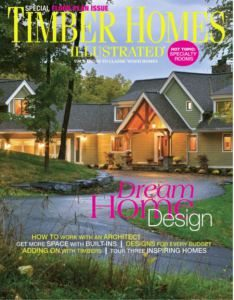 Timber Homes Illustrated Magazine Cover
