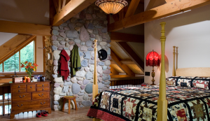 Image of Master Bedroom in Mountain Paradise Home